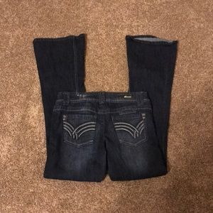 Rewind boot cut jeans